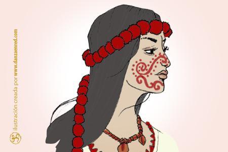 A través de la elaboración de imágenes míticas y de figuras geométricas el  cuerpo ha sido el medio de expresión más importante para las comunidades